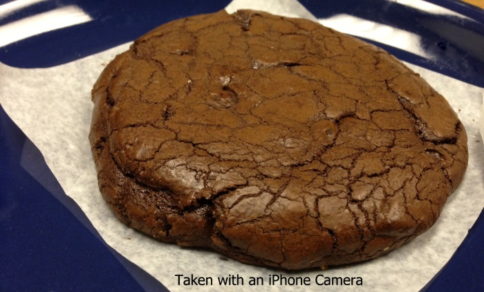 An actual Chocolate Truffle Cookie from Northstar Cafe, the object of my affection!